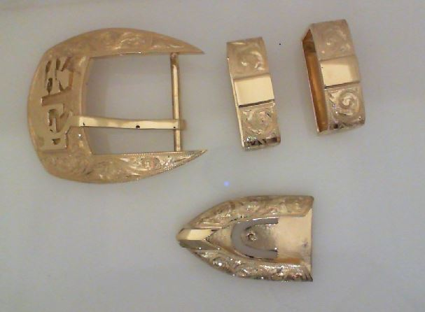 Belt Buckle Set