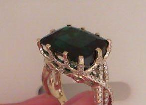 Custom Tourmaline Ring