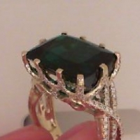 Custom Tourmaline Ring