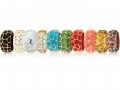 Anqelique de Paris Wide Safarai Bracelet with  Vermiel Overlay