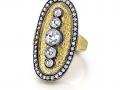 Arman 22KT Rose Cut Diamond Ring