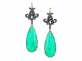 Arman Chrysoprase Earrings