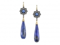 Arman 22KT Lapis Earrings