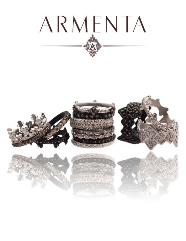 Armenta New World Ring Stack