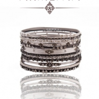 Armenta New World Bangle Stack