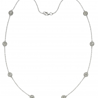 Beny Sofer Diamond by the Yard Necklace