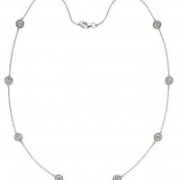 Beny Sofer Diamond by the Yard Necklace