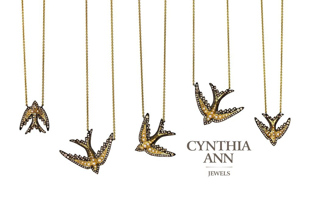 Cynthia Ann Ancient Swallow Necklaces