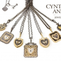 Cynthia Ann Ancient Love Lockets and Vintage Padlock Hearts