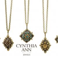 Cynthia Ann Ancient Starburst Pendants