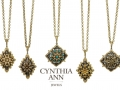 Cynthia Ann Ancient Starburst Pendants