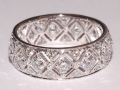 Fred Leighton Filigree Eternity Band