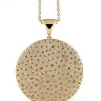 Garavelli Brown Diamond Pendant