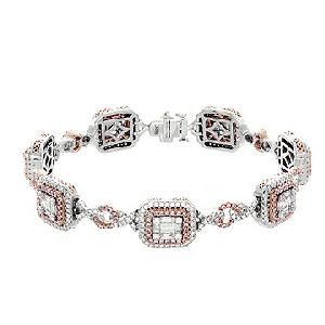Gregg Ruth Pink Diamond Bracelet