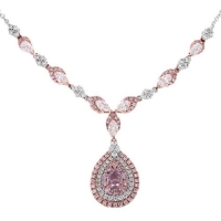 Gregg Ruth Pink Diamond Pendant