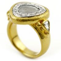 Gurhan 24KT Diamond Sliced Ring