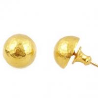 Gurhan 24KT Gold Ball Stud Earrings
