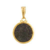 Gurhan 24KT One of a Kind Byzantine Pendant