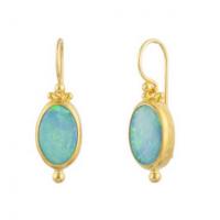 Gurhan 24KT Opal Drop Earrings