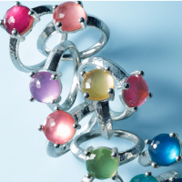 Ippolita Sterling Silver Rock Candy Stack Rings