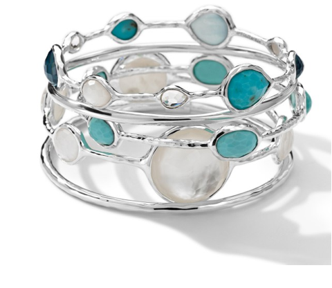 Ippolita Sterling Silver Rock Candy Bangle Set