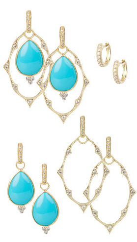 Jude Frances Ways to Wear Earring Charms and or Frames