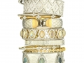Jude Frances Cuff and Bangle Stack