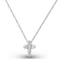 KC Designs Diamond Cross Pendant