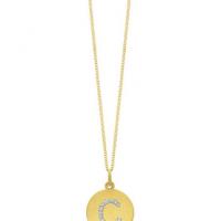 KC Designs Diamond Inital Pendant