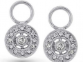 KC Designs Circle Diamond Earring Charms