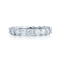 Kwiat Round Cut Diamond Eternity Band