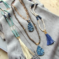 Laura J Finery Necklaces