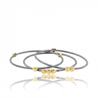 Lika Behar Assorted Stacked Geo Bangles