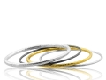 Lika Behar Assorted Hammered Bangles
