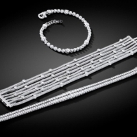 Norman Covan Diamond Bracelets