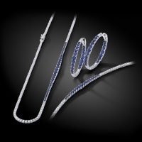 Norman Covan Diamond and Sapphire Pieces