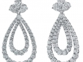 Norman Silverman Diamond Earrings
