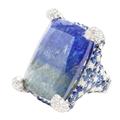 Rina Limor Tanzanite and Sapphire Ring