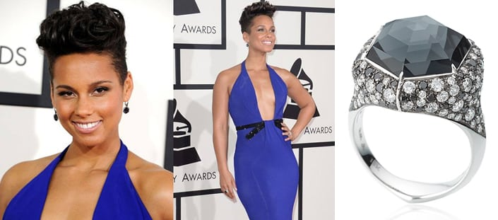 2014 Grammy Awards- Stephen Webster Alicia Keys