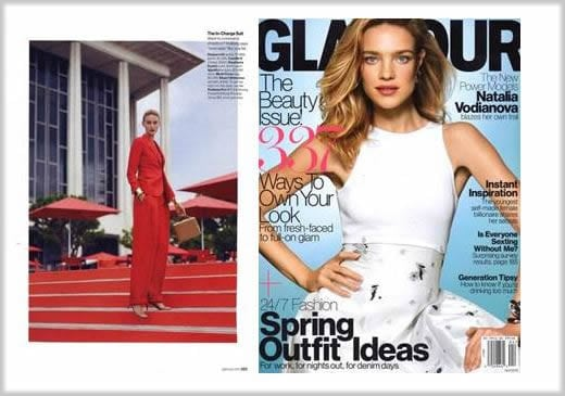 ippolita press glamour magazine