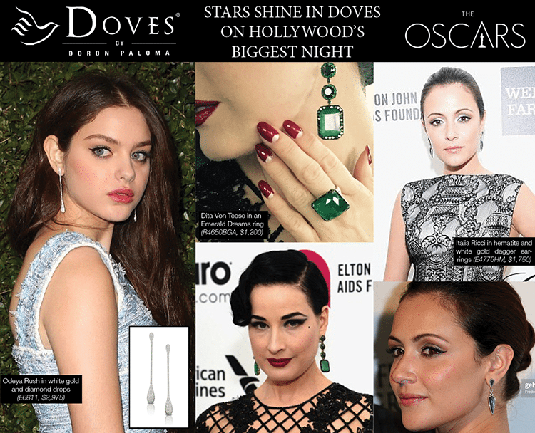 Stars in Doves on Oscar Night!