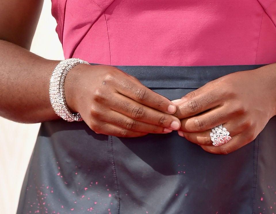 Uzo Aduba wearing Kwiat Diamonds