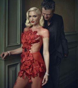 Gwen Stefani wearing Norman Silverman Diamonds at the Vanity Fair Oscar party