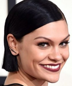 Jessie J wearing Doves ear climbers at the GRammys