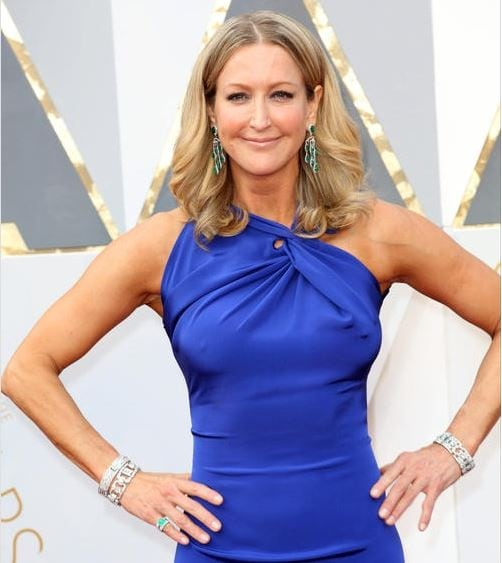 Lara Spencer Wearing Fred Leighton Jewels At The Oscars