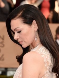 Laura Prepon wearing Stephen Webster Earrings at the SAG awards