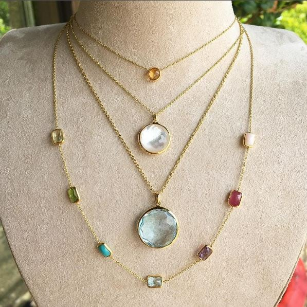 Ippolita Colored Stone Pendants